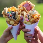 Moments bubble waffles