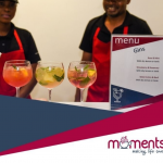 Moments craft gin bars