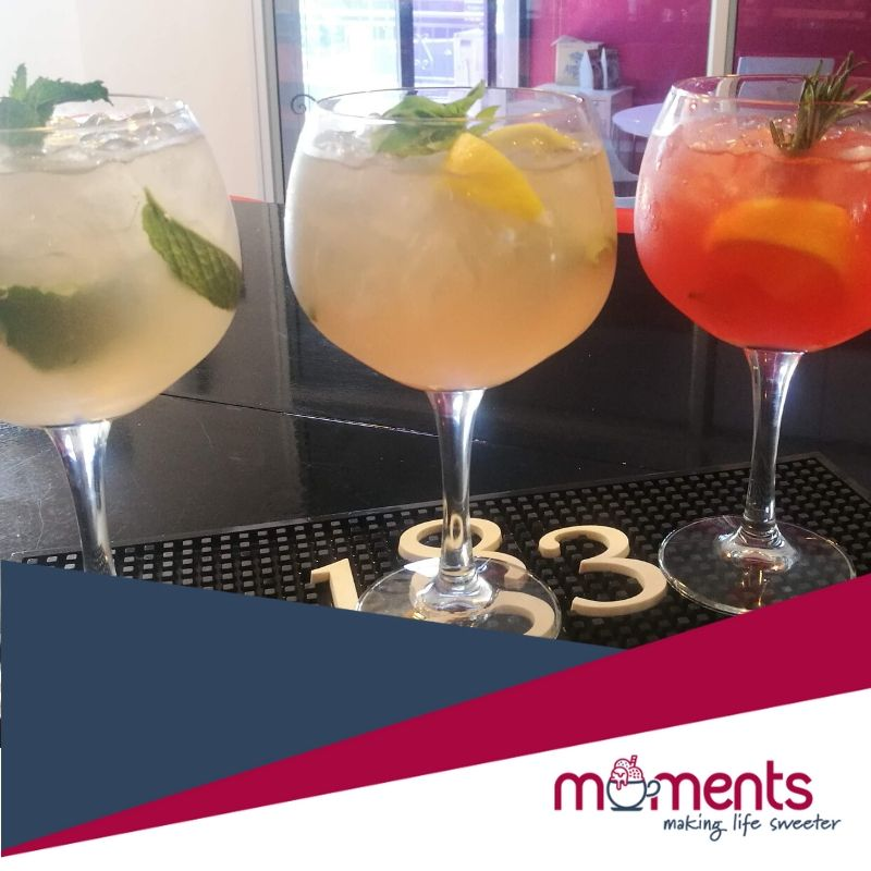 Moments craft gins