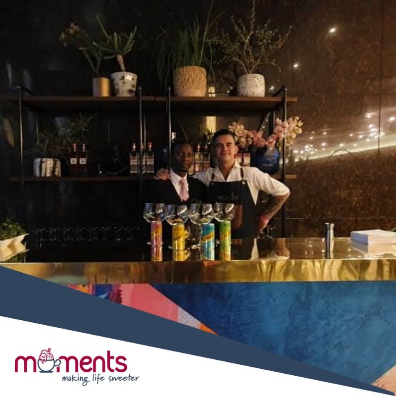 Moments gin bars and mixologists