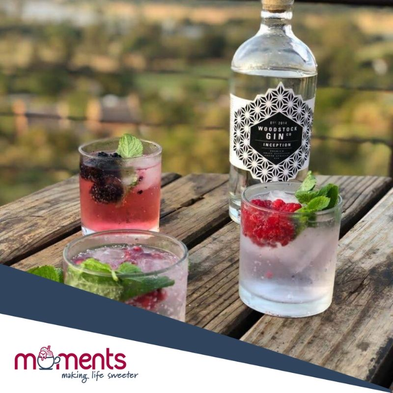 Moments gin pairing experience 2