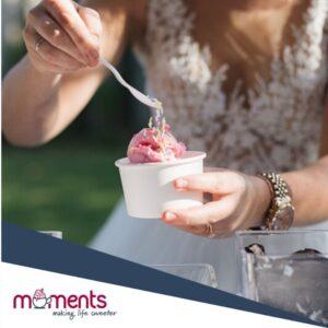 ice-cream for weddings