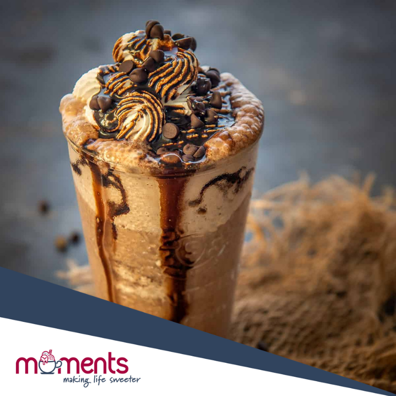 Moments Chocolate chip frappe