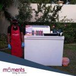 Moments Covid ice-cream bar