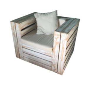 Single Seater Pallet Couch