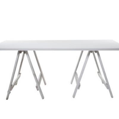 White Melville Trestle Table