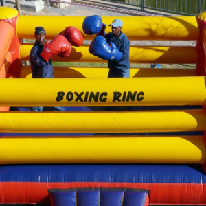 Boxing ring inflatable_moments