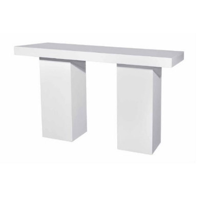 White 6 Seater Cocktail Table