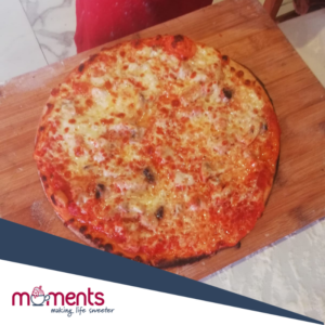 Moments design-your-own pizzas