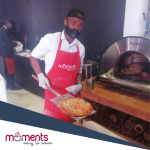 Moments Pizza bar for hire