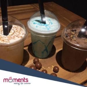 Moments- milkshakes