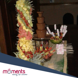 Moments chocolate fountain solution