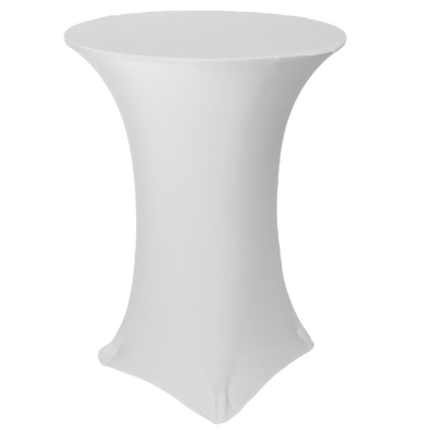 White fitting cocktail table cloth_Moments